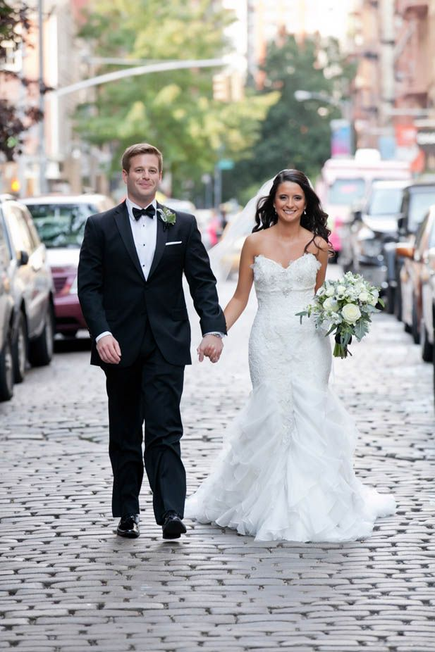 Modern New York Wedding at the Trump SoHo