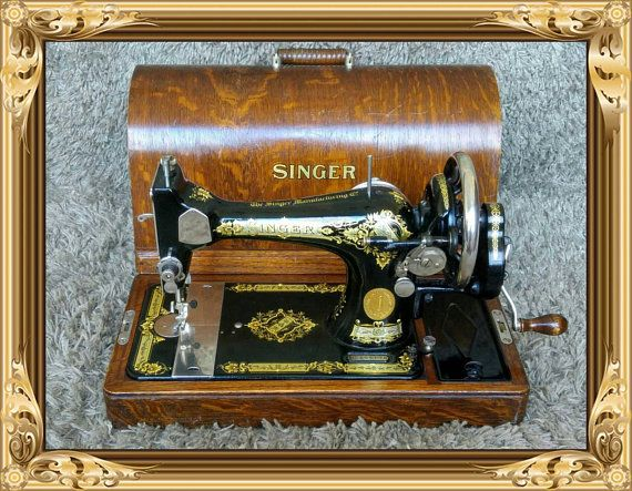 Singer 40K Antique Sewing Machine Clydebank Scotland United Impressive Who Makes Singer Sewing Machines Now