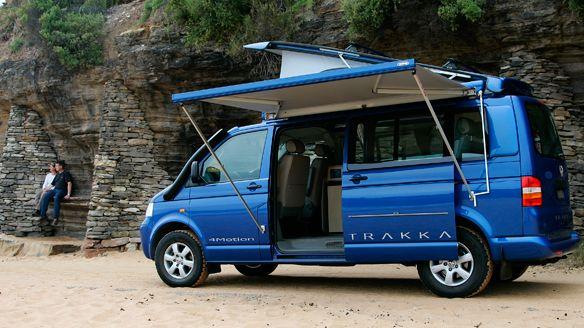 vw t5 camper by trakka vw t5 4motion t6 pinterest. Black Bedroom Furniture Sets. Home Design Ideas