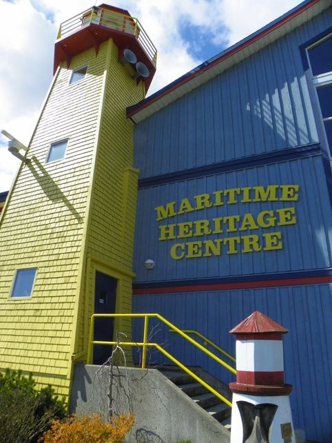 Meriti;me Heritage Centre and Museum, Campbell River BC, Vancouver Island