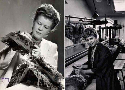 Astrid Sampe and Edna Martin, textile designers