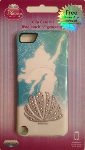 PDP Disney Princess Ariel Silhouette Rhinestone Clip Case iPod Touch 5th Generation