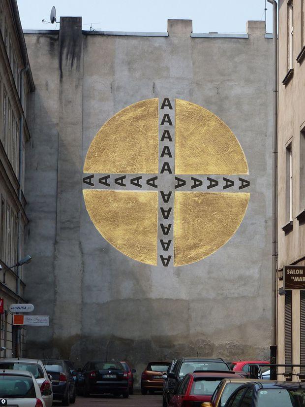 Jürgen Blum-Kwiatkowski, Mural na kamienicy przy ulicy Piotrkowskiej 49