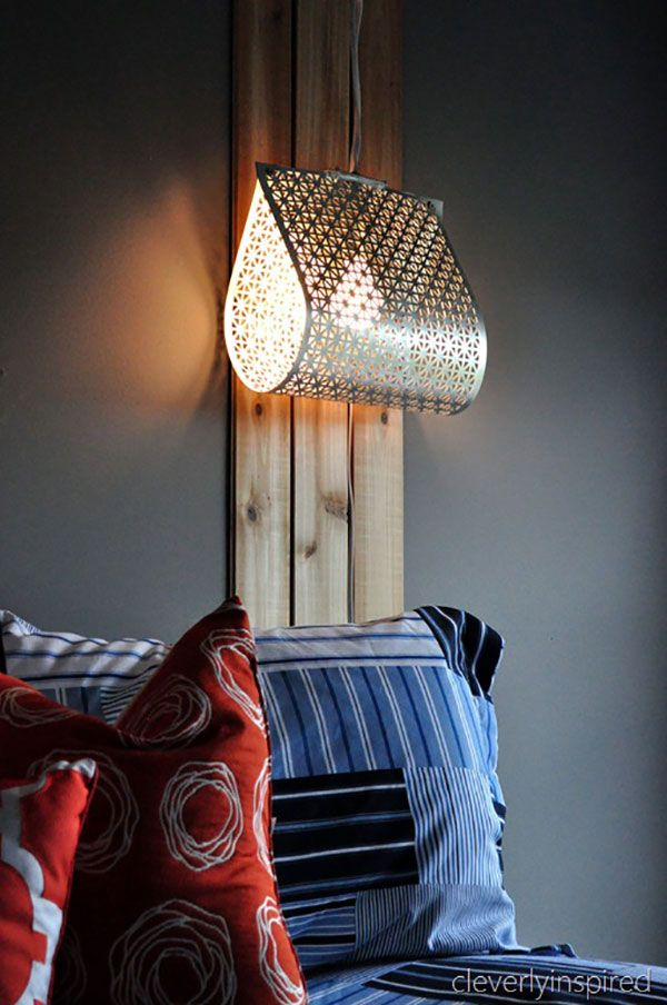 Lamps, Lights U0026 Shades: 18 Simple And Clever DIY Projects