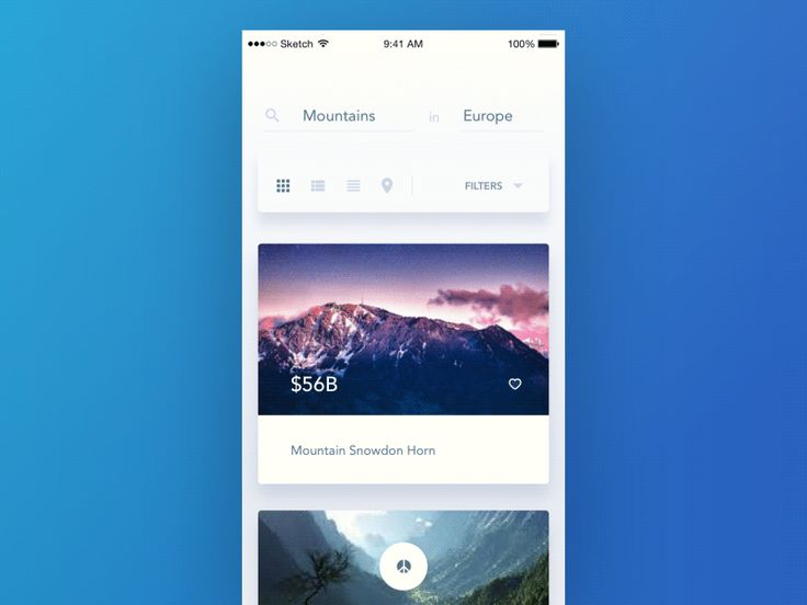 Mobile Interactions of the week #4 — Muzli -Design Inspiration — Medium