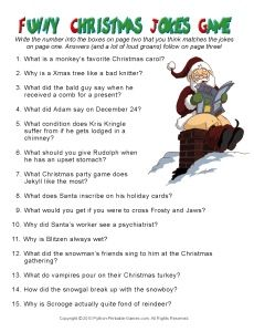 Funny Christmas Party Invitation Poem | Christmas Party Ideas: Christmas Party Jokes & Games
