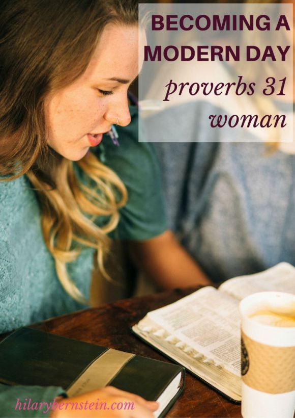 The example of the Proverbs 31 woman is timeless ... she still has lessons to teach modern day Proverbs 31 women.