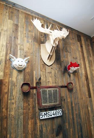 """""""Lacrimi si sfiniti"""" restaurant in Bucharest, Romania."""