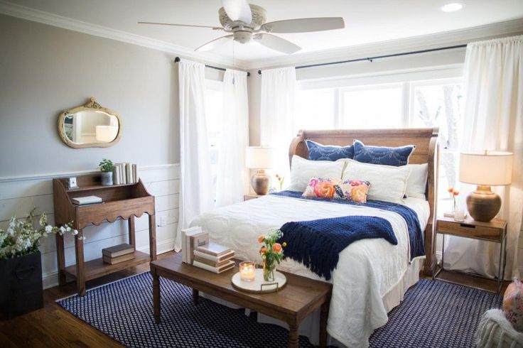 17 Best Ideas About Navy Curtains Bedroom On Pinterest