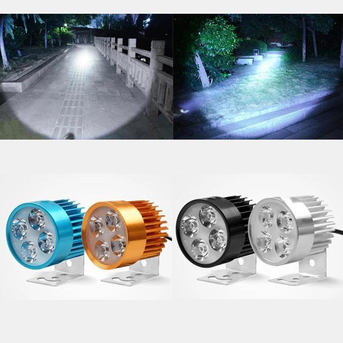 2017 Hot 12 V-90 V Led-scheinwerfer Motorrad Motorrad E-bikeHeadlamp Licht Wasserdichte Lampe auto styling