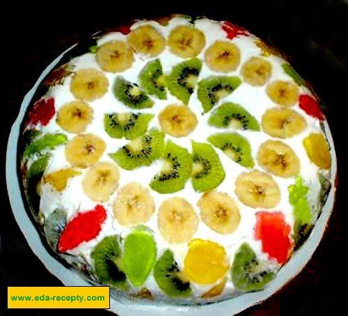 Фруктовый торт рецепт для начинающих