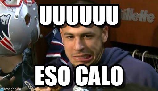 Aaron Hernandez Stumped : Uuuuuu, Eso Calo - by Anonymous