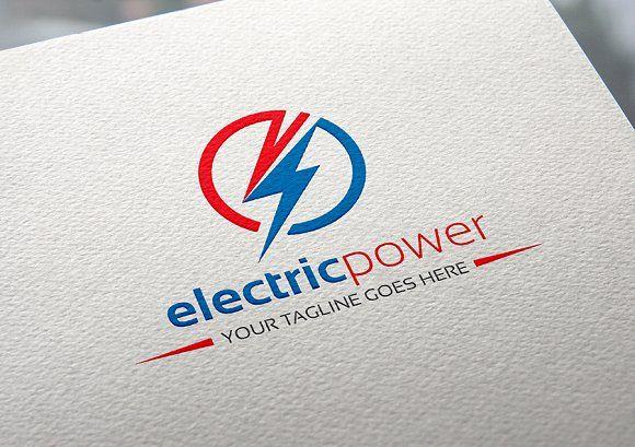 Electric Power Logo Power Logo Electrical Company Logo Electrician Logo