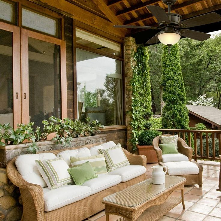 Enclosed Porch Decorating Ideas: 17 Best Ideas About Exterior Ceiling Fans On Pinterest