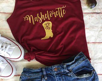 Bachelorette Party Shirts - Nashville Bachelorette - Nashville Bachelorette Party - Nashelorette  - Bachelorette Party -    Edit Listing  - Etsy