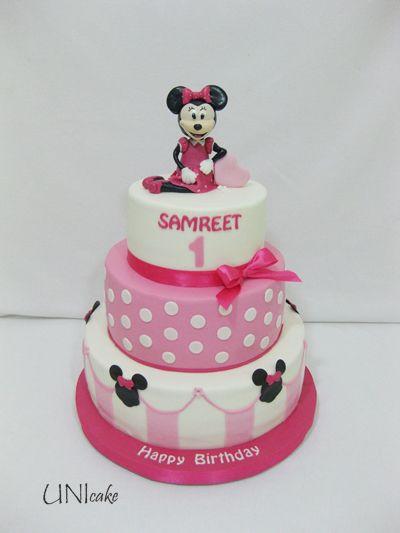 C148. Minni Hiiri pikkuisen taaperon syntymäpäiväjuhlaan. Minnie Mouse for a toddler's birthday party.