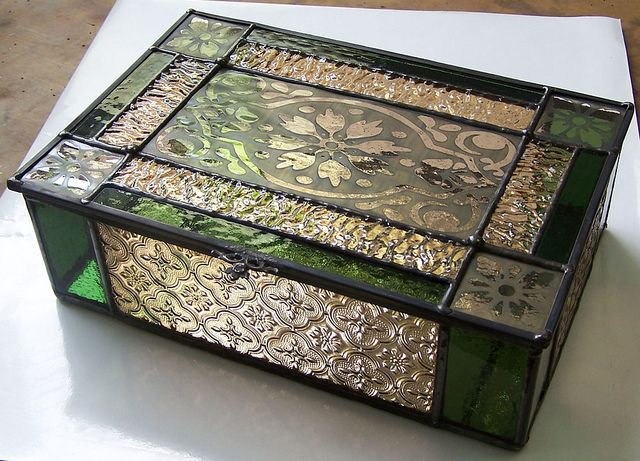 Country Tea Box02 by AbsoluteGlass, via Flickr