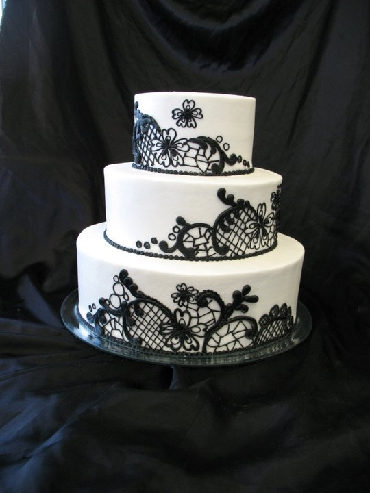 black lace wedding cakes 17 best images about weddings black lace on 11869