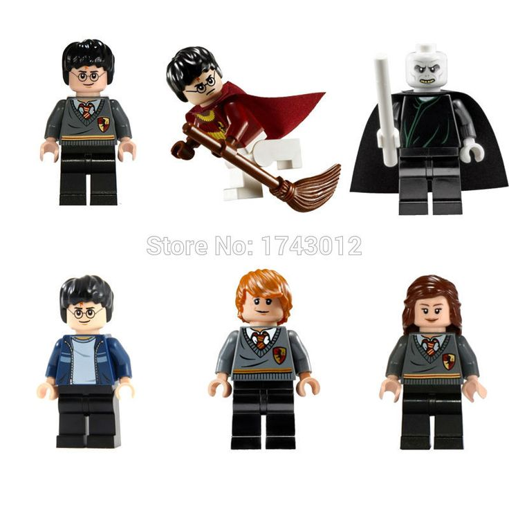 POGO PG8010 Harry Potter Magic Wand Minifigures Hermione Jean Granger Ron Weasley VS Lord Voldemort Toys For Children Gift Lepin #>=#>=#>=#>=#> Click on the pin to check out discount price, color, size, shipping, etc. Save and like it!