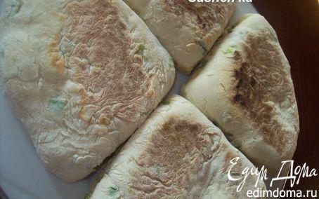 Ирландские лепешки с зеленым луком | Кулинарные рецепты от «Едим дома!»