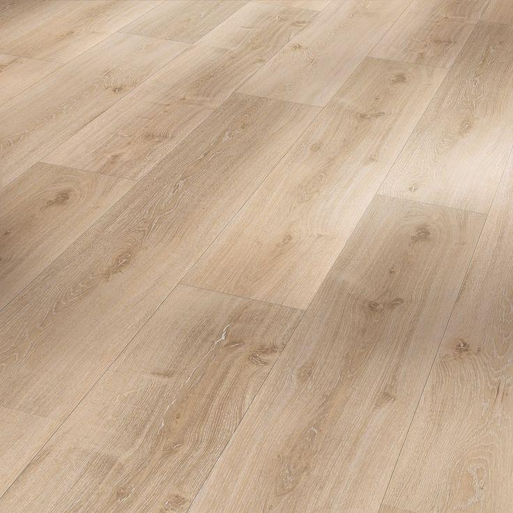 PARADOR Vinyl Basic 30 Eiche Royal hell gekälkt Holzstruktur Landhausdiele mit HDF Trägerplatte 001