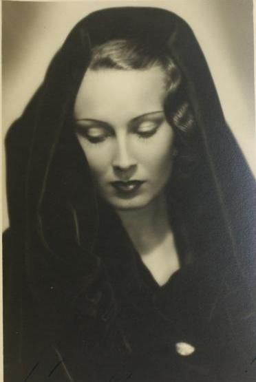 Lída Baarová - Czech film actres of 1930's #czechfilm #actress #movie #Czechia #filmactress