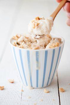 salted peanut caramel ice cream