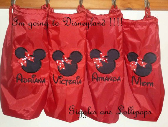 Girls custom personalized  backpack disney by GigglesandLollipops, $21.00