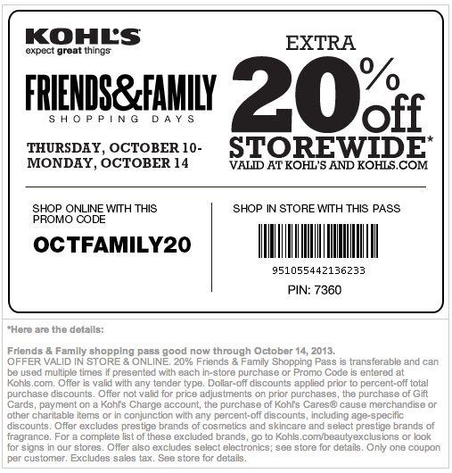 Kohls 40 off coupon code