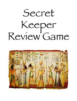 Ancient Egypt Review Game, perfect fpr my 6th grade social studies class as we learn about Ancient Egypt