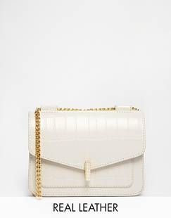 Reiss Leather Etched Bag - Shop - The You Way