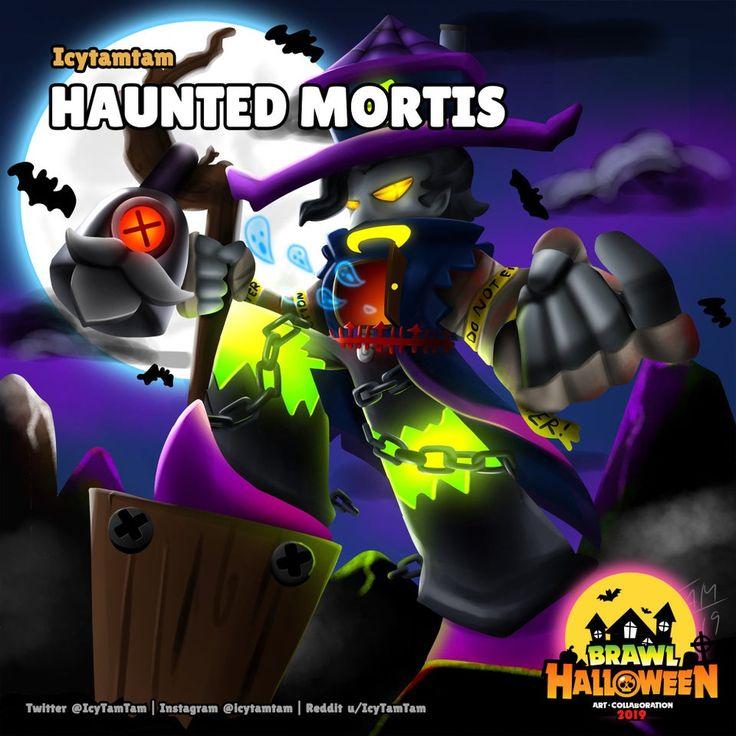 Reddit Brawlstars [Brawl Halloween] Haunted Mortis in