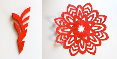 how to cut the perfect snowflake - doing a late november holiday decorations party would be so much fun!