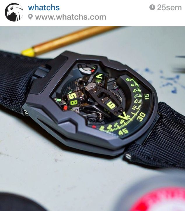 UR-210Y, URWERK by Whatchs