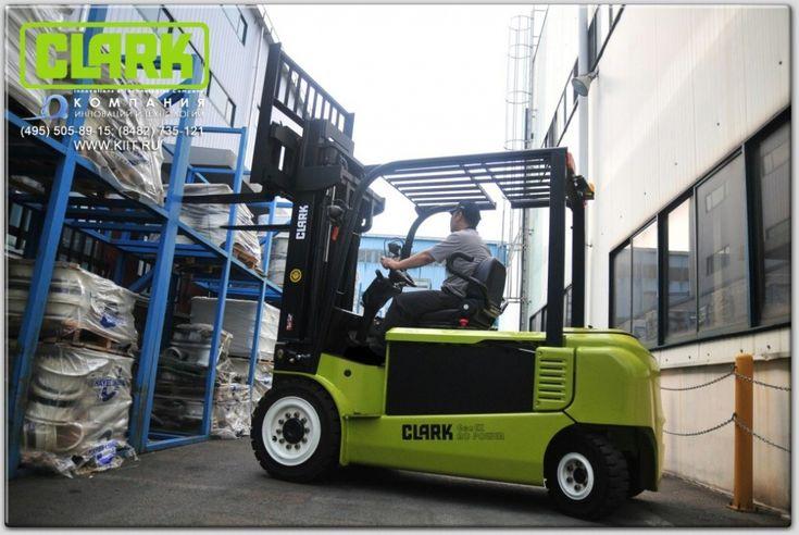 Вилочный электропогрузчик Clark GEX40 г/п 4000 кг