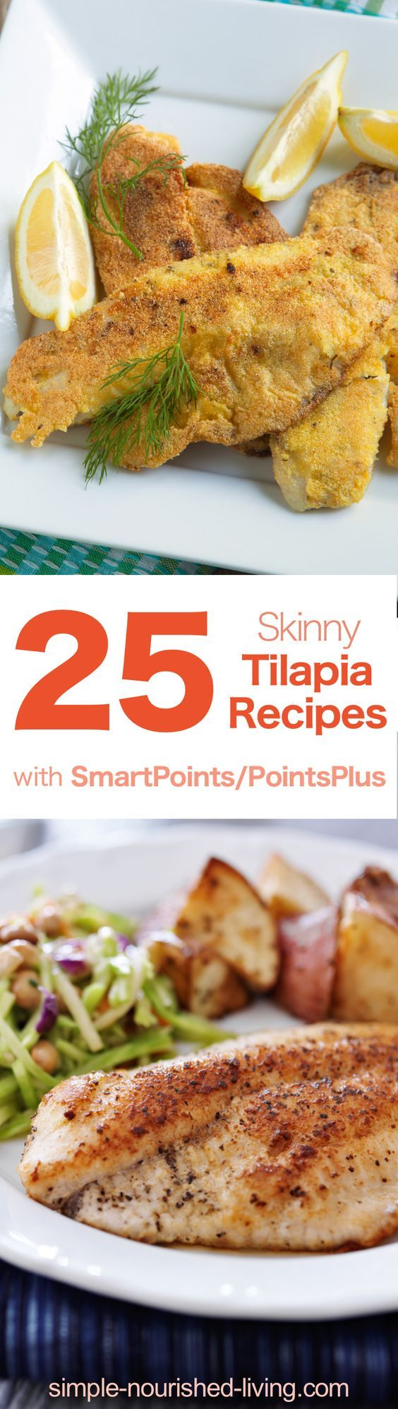 Weight Watchers Recipe Roundup: 25 Skinny Tilapia Recipes with WW SmartPoints/PointPlus values!