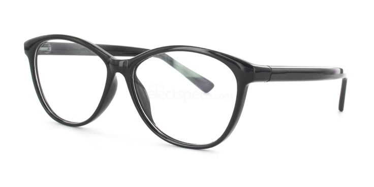 Savannah 2439 - Black glasses | Free lenses | SelectSpecs