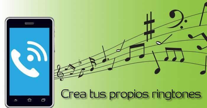 Aplicación web y móvil para que puedas crear ringtones para tu teléfono #Apps #ringtones