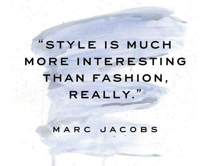 It's All About Style