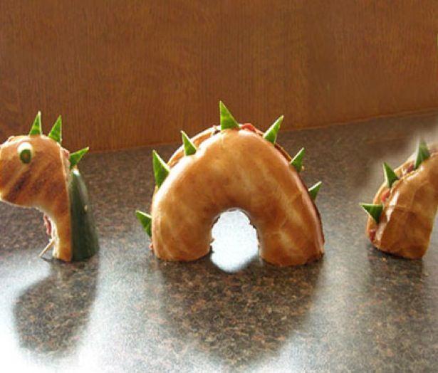Loch Ness Monster Sandwich #gladinspiredlunches
