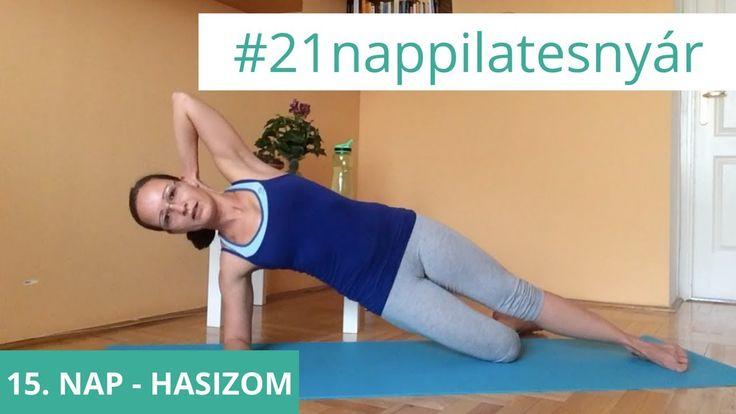 21 Napos Nyári Pilates Kihívás: 15. nap - Hasizom