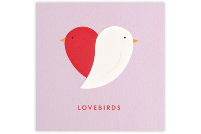 Cool Valentine ecards: Lovebirds ecard by Kate Spade from Paperless Post