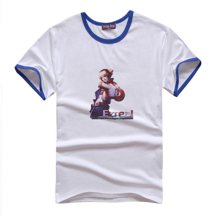 TPA Ezreal Manches Courtes T-shirts frapper couleur (6 couleurs) TPA Ezreal Manches Courtes T-shirts frapper couleur [LOL 00007]