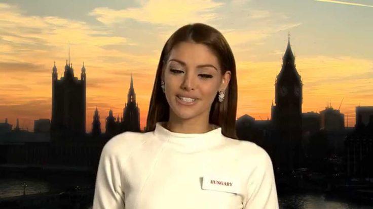 HUNGARY, Edina Kulcsár - Contestant Profile : Miss World 2014