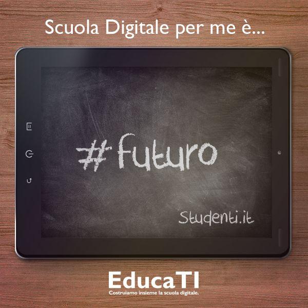 Secondo Studenti.it #scuola #digitale è #futuro.