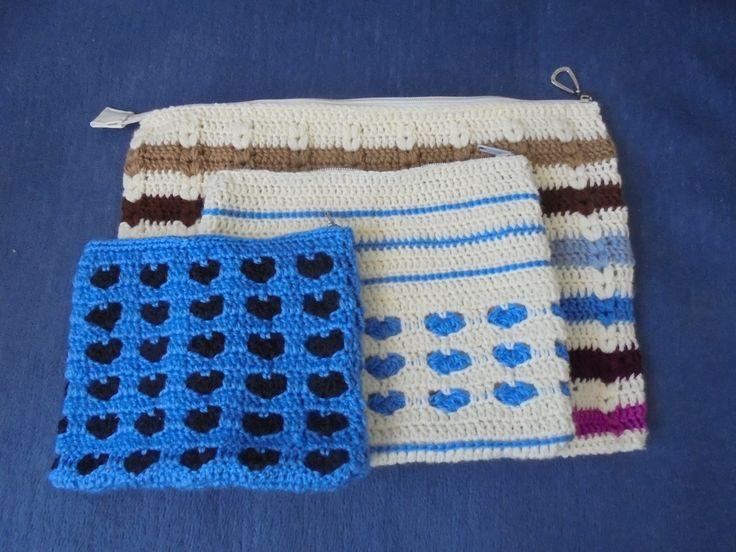 Hobby- moje własnoręczne robótki: saszetka / etui  na różne przedmioty // Hobby- my own handwork: sachet / case for various items