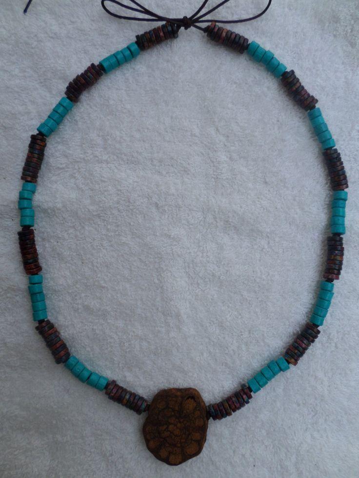 Ayahuasca necklace by ecoreart on Etsy
