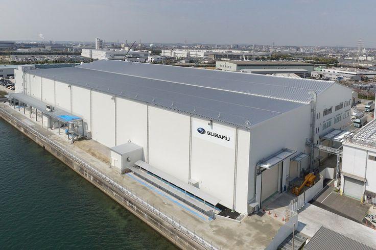 Fuji Heavy Industries завершила строительство собственного авиационного завода в Японии