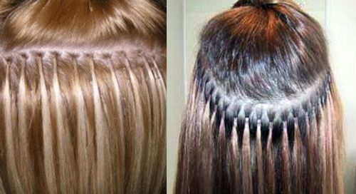 Micro Loop Hair Extensions Before and After