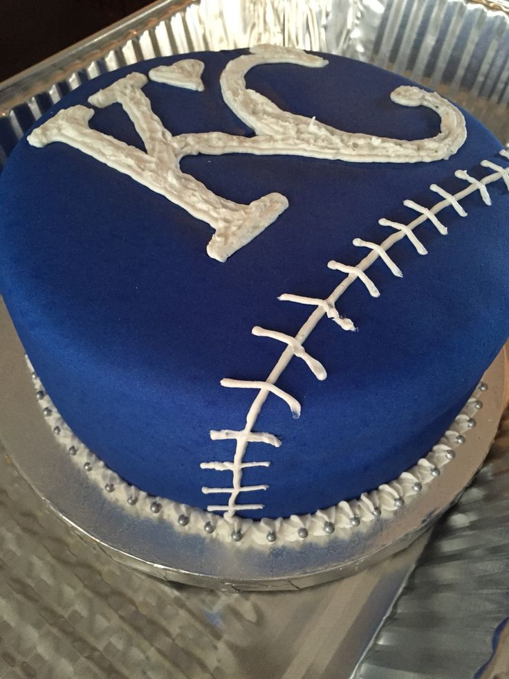 Kansas City Royals Kc Baked Cakes Pinterest Royals
